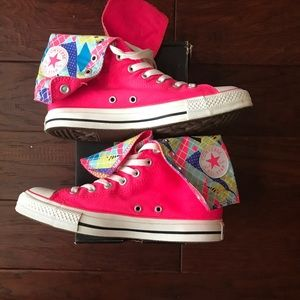 Exclusive Converse Chuck Taylor Geometric XHi Pink
